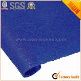 No tejido de papel de envoltura de regalos de flores de color azul oscuro nº 28