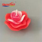 Candela di galleggiamento con la scultura quadrata del fiore