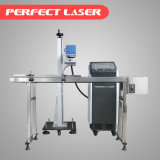 machine en plastique d'inscription de laser de CO2 de vol en ligne de 10W 30W 60W