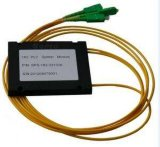 Sistemi del divisore del PLC della fibra colorati telecomunicazione 1X2 di Gpon