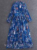 Платье вечера коктеила выпускного вечера цветка женщины способа Silk