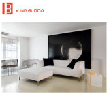 Strati poco costosi del sofà dell'angolo di prezzi per la mobilia del salone