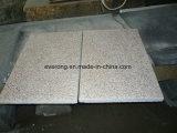 Telha Cut-to-Size do por do sol G682 granito oxidado de pedra dourado para a venda