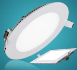 Marcação de homologação RoHS 3 W a 18W Luz do painel de LED de alumínio