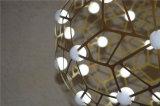 Отель и ресторан декоративная нержавеющая сталь индикатор круглый подвесной светильник