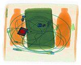 Double affichage X-ray bagages Introscope Scanner pour l'aéroport, les douanes (AA100100D-win7)