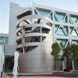 Fachada de edifício exterior de painéis de parede composto de alumínio