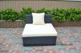 Aluminunフレームの屋外の家具のソファー表の一定の藤の家具