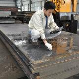 Placa resistente ao desgaste ASTM 5115 5120 5140 ligas de aço da estrutura