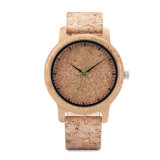Reloj de madera original del OEM del movimiento de Japón del reloj para las mujeres