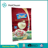 Sacchetti di plastica di progettazione piacevoli del riso della bella stampa di incisione del Pakistan dei sacchetti dell'imballaggio