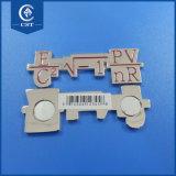 Timbratura del magnete di alluminio del frigorifero della decorazione del frigorifero del magnete del metallo