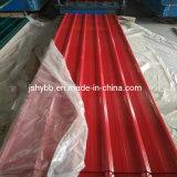 Toiture en métal ondulé laminés à froid prépeint PPGI Galvalume PPGL couché couleur de l'acier pour la construction de la bobine