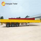 40ton 20FT 40FT 측벽 판매를 위한 동봉하는 화물 트레일러