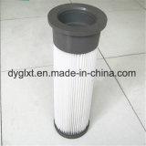 Polvere di granigliatura di alta precisione che rimuove la cartuccia di filtro dal poliestere