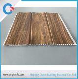 2つの溝PVCパネルによって薄板にされるPVC天井の木の壁パネル