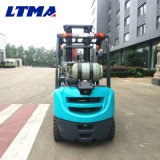 Mini prix duel de chariot élévateur d'essence de LPG de 2 tonnes de Ltma