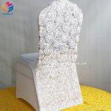 Heiße Verkaufs-Blumespandex-Polyester-Gaststätte-unterschiedlicher Farben-Stuhl-Deckel