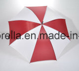 USD 1.20 van de Koopwaar op Hand, de Grote Paraplu van het Golf, Dubbele Ribben in de Zwarte, Zwarte Schacht van het Metaal, Plastic Handvat