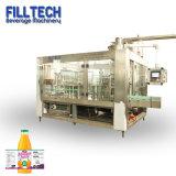 Bouteille de verre de thé automatique complet de l'eau de boisson Machine de traitement de remplissage