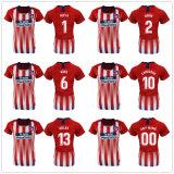 L'Atletico de Madrid personnalisé Soccer Jersey Griezmann Correa Football Shirt
