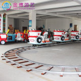 Paseos infantil equipos de juego moto eléctrica de forma vía tren