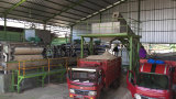 폐기물 타피오카 또는 카사바 펄프 탈수를 위한 벨트 압박 필터