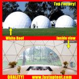 Le fournisseur blanc 6 m de diamètre dôme géodésique tente pour partie de plein air