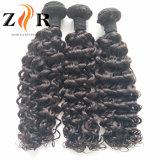 Venta al por menor Wholesales cabello humano sin procesar cabello virgen teje la trama