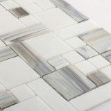De Tegel van het Mozaïek van de Muur van de Keuken van de Badkamers van het Glas van de Kleur van de mengeling