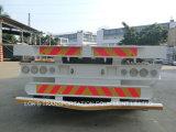평상형 트레일러 트럭 트레일러 40 피트 세 배 차축