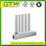 Nueva Generación 44'' 120gsm sublimación adhesivas de papel para tejido elástico