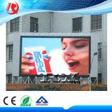 Publicité de plein air HD plein écran d'affichage vidéo couleur Panneau affichage LED P10