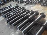 Pipe malléable de fer avec les extrémités à flasque