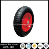 Pr2602 Carretilla Carretilla de ruedas de goma de aire del Neumático Llanta 14''.