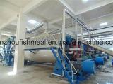 Volles Set des Fischmehl-Produktionszweiges