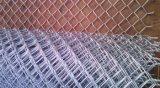 Maillon de chaîne en acier galvanisé clôture avec le plus bas prix usine