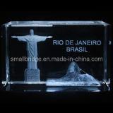 Montaje Corcovado del cristal 3D Río