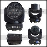 PRObewegliches Hauptlicht des stadiums-Beleuchtung-Vierradantriebwagen-7PCS 40W des Summen-LED