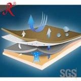 Revestimento Windproof, impermeável, respirável ocasional de Softshell (QF-459)