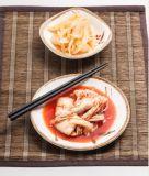 """La mélamine 7""""Plaque ronde/plaque de Sushi/le côté plat des aliments (GM13807-07)"""