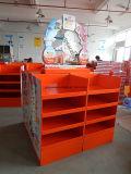 Pappbildschirmanzeige-Hersteller, Pappeinzelverkaufs-Bildschirmanzeige, Knall-Ausstellungsstand, wir Standardpappladeplatten-Bildschirmanzeige
