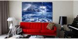 Gedrucktes Wetter-Regen-Himmel-Wolken-Natur-Seemalleinwand-Druck-Raum-Dekor-Druck-Plakat-Abbildung-Segeltuch Mc-137