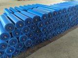 Desgaste do polietileno do HDPE - rolo carbonoso resistente do retorno do transporte de correia