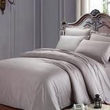 灰色カラー100%年の綿300tcの高級ホテルの寝具セット