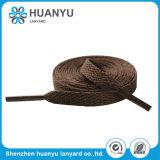 Плоской шнурок печатание напечатанный тканью изготовленный на заказ
