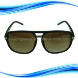 Doppi occhiali da sole del piedino dello stretto della banda del metallo di Brige per il fronte largo