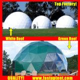 명확한 투명한 백색 PVC 고품질 돔 천막