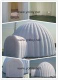 큰천막 당 이글루 돔 천막 높은 쪽으로 팽창식 공기 송풍기