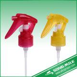 Очистка с помощью пластиковых 28мм мини-триггер для бутылок опрыскивания